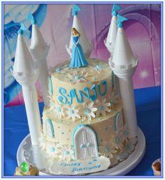 cinderalla castle cake