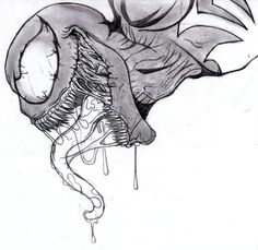 venom drawings | Venom 2 by xenomorph01