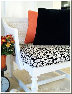 Painted Cane Chairs