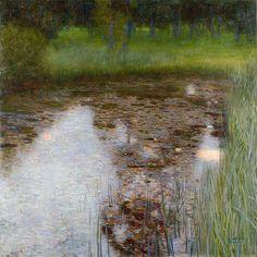 TheSwamp  - Klimt, 1900. Oil on canvas | ExpoItalyArt.it