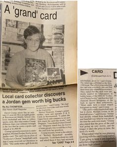 Michael Jordan Autograph, Rare Jordans, Up Auto, Monster Cards, Thing 1, Grandma And Grandpa, S Stories, 12 Year Old, Smudging