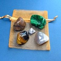 These gem stones can help provide different types of protection - travel, business, radiation, etc.  should Include agate, galena, tiger eye, chiastolite, malachite