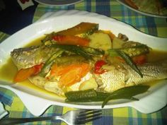jamaican roast fish recipe | Some people call it bake fish,but we Jamaican call it roast fish ...