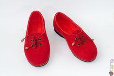 """Туфли из войлока ручной работы """"Коррида"""" – купить в интернет-магазине на Ярмарке Мастеров с доставкой Felt Boots, Shoes, Zapatos, Shoes Outlet, Shoe, Footwear"""