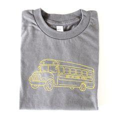 School Bus Short Sleeve Tee