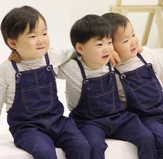 We are the song brothers Superman Baby, Cute Kids, Cute Babies, Triplet Babies, Korean Tv Shows, Man Se, Song Triplets, Song Daehan, Baby Corner