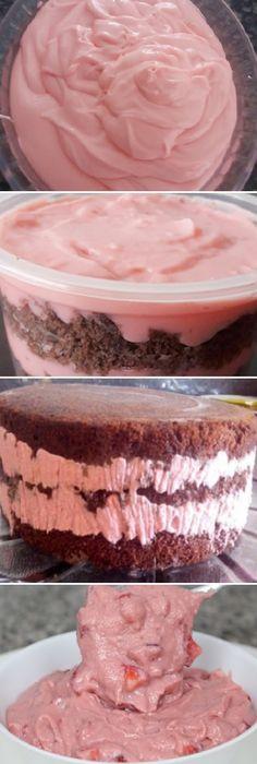 Relleno de Fresa con Leche condensada. #relleno #fresa #lechecondensada #rellenar #trufas #bombones #cupcakes #postres #dulces #strawberry #crema #pan #panfrances #panettone #panes #pantone #pan #recetas #recipe #casero #torta #tartas #pastel #nestlecocina #bizcocho #bizcochuelo #tasty #cocina #chocolate #tang #reposteria Si te gusta dinos HOLA y dale a Me Gusta MIREN...