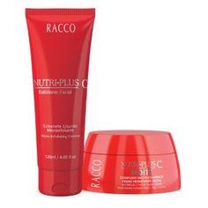 RACCO - KITS ESPECIAIS - SABONETE ESFOLIANTE E CREME FACIAL 30+ /LINHA NUTRI-PLUS