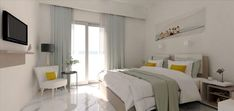 Rethymno Beach Hotel, Bomo Hotels,Rethymno, Crete, Greece, member of top Peak Hotels #toppeakhotels #accomodation #hotels Rethymno Crete, Crete Greece, Hotel S, Beach Hotels, 4 Star Hotels, Stars, Bed, Furniture, Home Decor