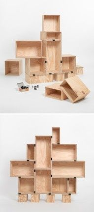Modular Furniture. #DIY #Home