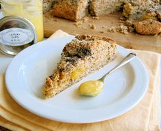 poppy seed and lemon curd mega scone  Sometimes I feel like a kitchen wizard. Everything I make turns out just right, whether I've followed a recipe to the letter, made infinite tweaks, or just created something off the top of my head. At those times, it feels as though I have a culinary fairy godmother watching over my oven and zapping everything … Continue reading Poppy Seed and Lemon Curd Mega Scone