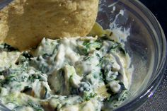 Diary of a Recipe Addict: Slow Cooker spinach & artichoke dip