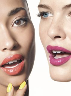 Bright lips and bright nails are in! via @Nordstrom #MayCatalog