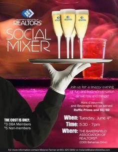 social-mixer-flyer by Carol Duran Design via Slideshare Raffle Prizes, Mixer, Book, Design, Books, Libros, Book Illustrations, Design Comics, Stand Mixer