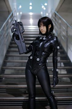 Futuristic Girl, Cyberpunk, Asian Girl, Girl Power, Sci-Fi Girl, Cyber Girl, Latex, Futuristic Fetish, Futuristic Style, Futuristic Fashion by FuturisticNews.com