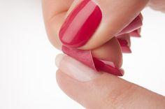 Sopolish: peel-off  #nagels