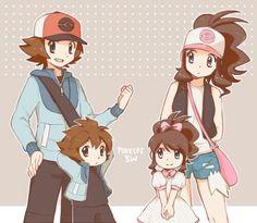 Hilbert and hilda Pokemon Mew, Pokemon Manga, Black Pokemon, Pokemon Ships, Pokemon Comics, Pikachu, Pokemon Hilda, Pokemon Couples, Pokemon People