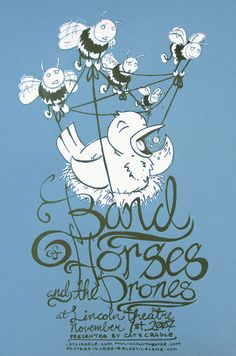 GigPosters.com - Band Of Horses - Drones, The