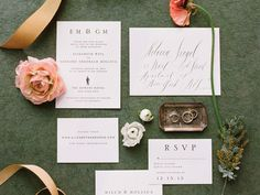 Your Top 10 Wedding Invitation Etiquette Questions Answered | Photo by: Heather Waraksa  | TheKnot.com