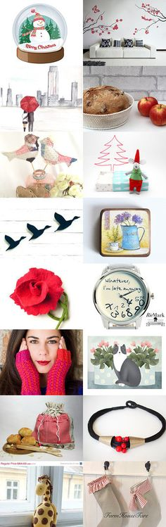 dreaming Christmas holidays in New York by Paola Fornasier on Etsy--Pinned with TreasuryPin.com