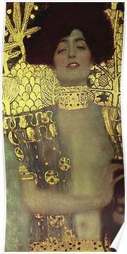 Gustav Klimt - Judith - Klimt -Judith Poster