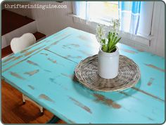 DIY Kitchen Table Makeover with Repurpose Paint