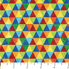 Geometric Brights Blender Fabric / Rainbow Fabric / Science Fabric by the yard  Fat Quarters / Northcott 20184 Stonehenge Yardage by SewWhatQuiltShop on Etsy