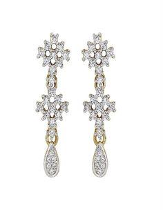 Beautiful Diamond Earring on www.diamonds4you.com