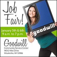 Are you looking for an invorating #career in retail? Attend a job fair in Waukesha on January 5th & 6th