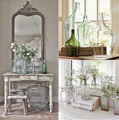 [Details] Reutilizamos tarros y botellas de cristal para decorar | Decorar tu casa es facilisimo.com