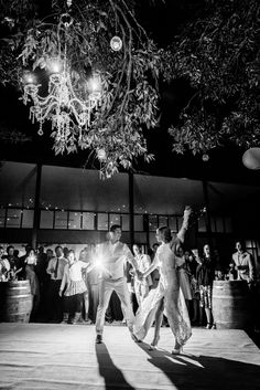 First dance under the stars at POint Lookout Community Hall, Straddie | North Stradbroke Island wedding www.stradbrokeislandphotography.com