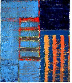 Kathleen Waterloo, Artist, What Drives You II   encaustic