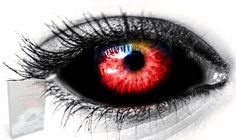 Scary Eyes, Cool Eyes, Vampire Eyes, Demon Eyes, Eyes Artwork, Evil Demons, Aesthetic Eyes, Arte Obscura, Eyes Problems