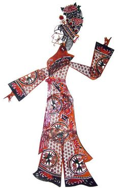 Traditional Chinese, Chinese Style, Shadow Theatre, Chinese Opera, Shadow Play, Shadow Puppets, Mid Autumn Festival, Paper Art, Character Design