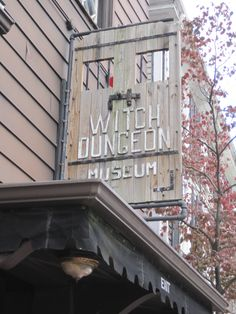 Witch Dungeon, Salem, MA-This was an experience like none other.. being down in the dungeon where they would lock these witches up to die.......but I'd go again!