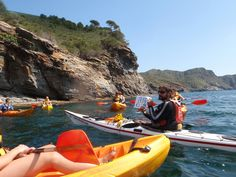 Excursió familiar kayak, Roses. Costa Brava.