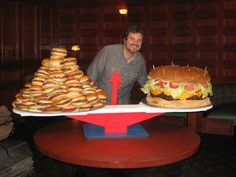 Holy Crap that is a HUGE burger!!!