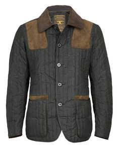 Barbour by To Ki To Jacket Country Fashion, Esquire, Barbour, Winter Wear, Shades Of Grey, Dapper, Gentleman, Attitude, Men's Fashion