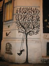 street art -Bucharest/ I would like to see more of this here in the States.