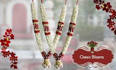Wedding garland #Wedding #garland is the name which the bride and groom used to exchange between them. Silk wedding garlands can make a stunning addition to your wedding attire. #Contact – Venkatachalam – 9843211122