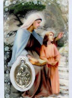 St Anne, Saint Joachim, Religion, Saints, Catholic, Viera, Horoscope, Comme, Attitude