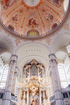Dresden Frauenkirche, Germany, 2014