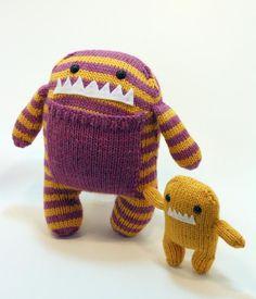 Mama and baby Monster Plush