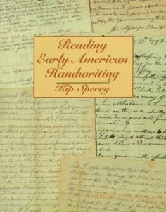 Historic handwriting tips. Includes samples of alphabets, transcriptions of documents and reading lists for further study.