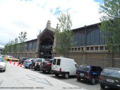 MAM - MERCADO AGRÍCOLA DE MONTEVIDÉU, Uruguai O local é bem amplo. Reune restaurantes, lojas de produtos frescos como frutas e legumes, mercado, lojas de produtos regionais. Também apresenta eventos culturais. Foto : Cida Werneck