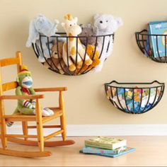Easy storage for the kids room!