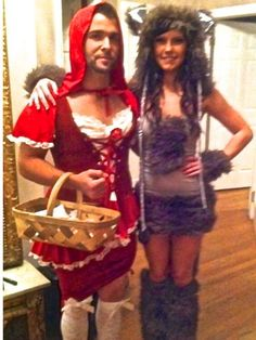 Little Red Riding Hood Gender Swap | 19 Incredibly Creepy Couples Costumes