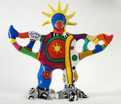 One of the first women to make her mark on public spaces across the world, Niki de Saint Phalle was a French sculptor, painter, and . Jean Tinguely, Alberto Giacometti, French Sculptor, Crazy Bird, Art Sculpture, Artwork Images, Public Art, Public Spaces, Art Club