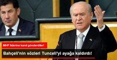 Devriye Haber : Dönemin PKK'lıları' Diyen Bahçeli'ye Tunceli'den T...