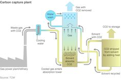 Graphic of carbon capture